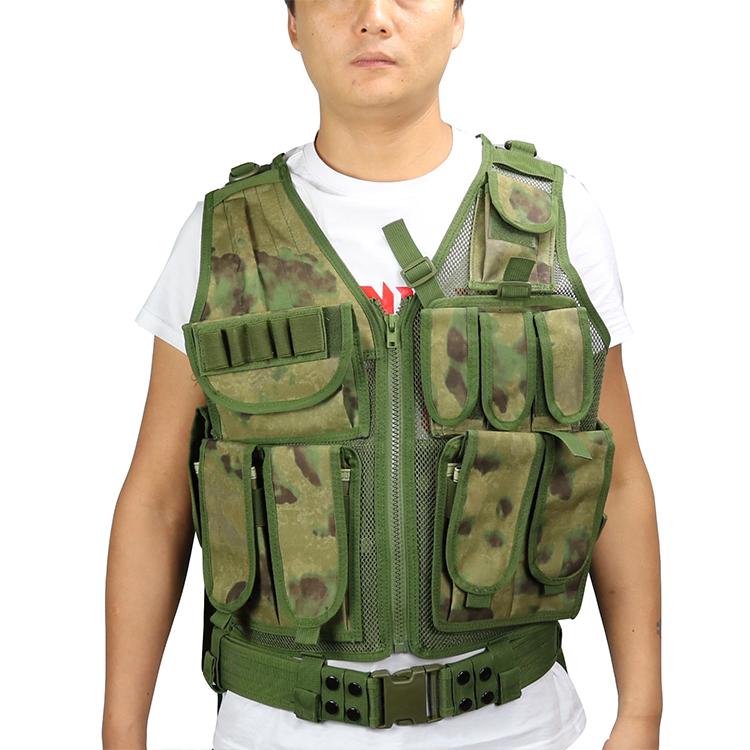 Polyester Khaki military ak 47 bullet proof vest