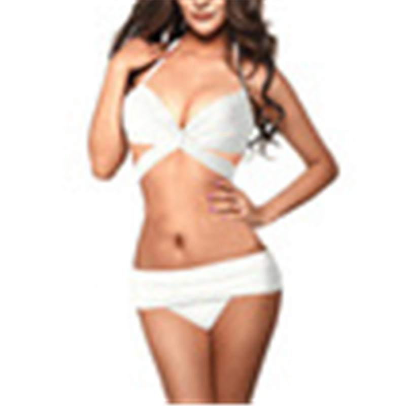 20c2d6aa852ca Get Quotations · 2pcs Sexy Retro Rockabilly Pin up High Waist Bikini Set  Sheer Lace Swimsuit Swimwear S-L size