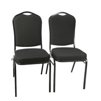 Hotel Banquet Hall Special Use Wholesale Stacking Metal Banquet Chair for sale