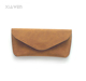 XiaWen High Cost Performance & Custom Soft Leather Glasses Case Eyeglasses Case