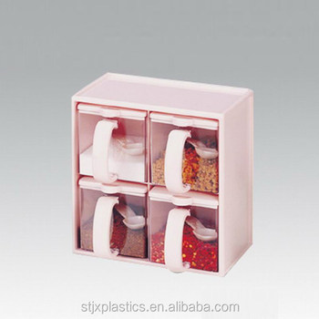 1f3ff232b38 Kitchen storage flavoring box set