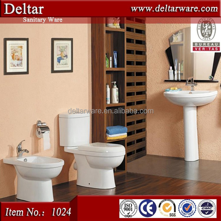 YIDA sanitary ware wc toilet basin set, dolomite toilet sets,ceramic toilet wc sizes