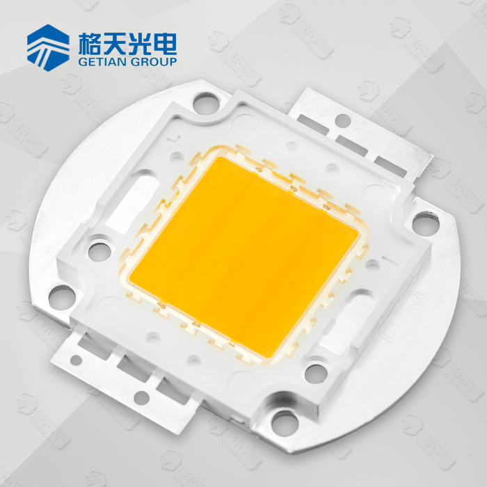 ISO9001 LED Factory Warm White 2900-3200K CCT 50W COB LED High Power 50W LED Array