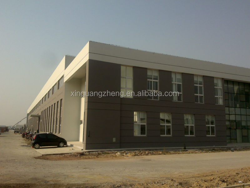 large span prefabricated steel frame barns
