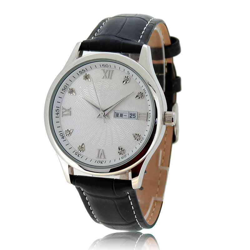 Custom gift watches Business roman number watch 3 atm water resistant watch