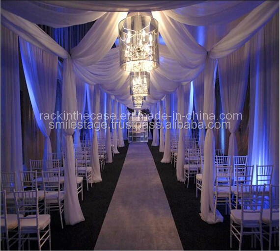 drapery hardware portable pipe and drape tent wedding pipe and drape mandap decoration wedding backdrop stand