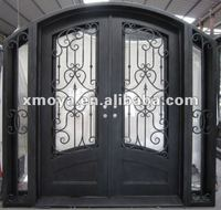 Residential decorative steel doors designs