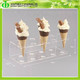 DDC-0157 Trade Assurance Chinese Factory Wholesale Plastic Ice Cream Cone Holders