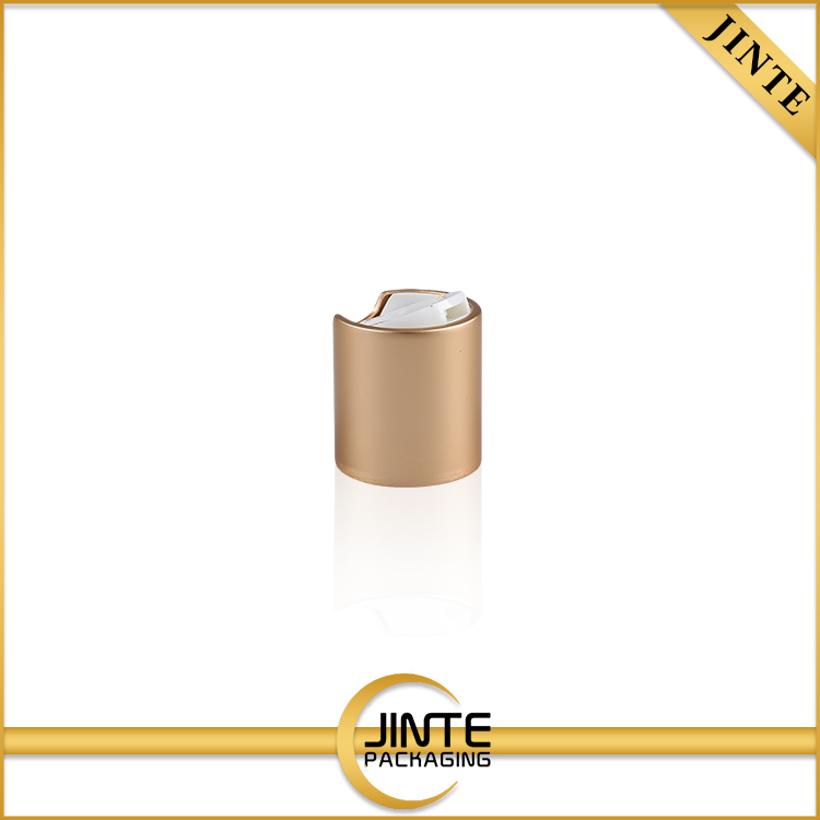 High Quality 10 Years Experience For Cosmetic bottles matte gold 24410 28410aluminum disc cap