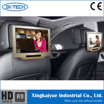 Universal Car Back Seat 101 Inch Tft Lcd Tv Monitor With Wifi 3G Function