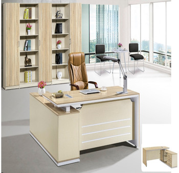 Office Table Design Mdf Mfc Chipboard