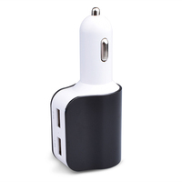 High speed Triple usb port 5v 3-5a ac car to usb charger ac dc car adapter