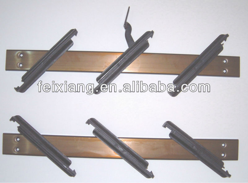 Natural anodized Aluminium Louver frame, Brown louver mechanism