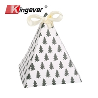 Triangulation candy box Christmas Package Gift Box