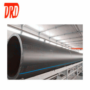 hdpe pipe pe4710 dr9 28 inch DN 710mm diameter PE pipes prices