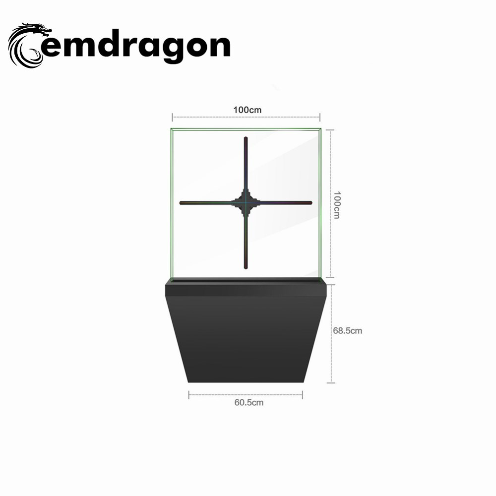 3d Hologram 100 Cm Hologram Display Fan With Sd Card/wifi Indoor  Advertising Equipment Led Monitor 3d Hologram Display 3d Fan - Buy 3d  Hologram Puzzle