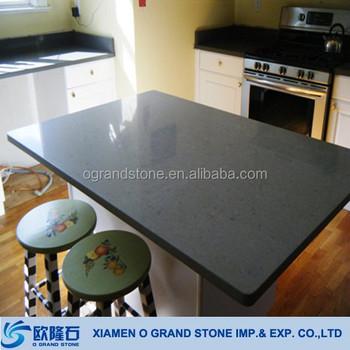 Man Made Quartz Stone Precut Kitchen Grey Countertops