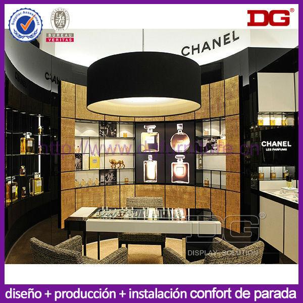 El ltimo dise o al por menor de perfumes de lujo tienda for Productos de decoracion de interiores