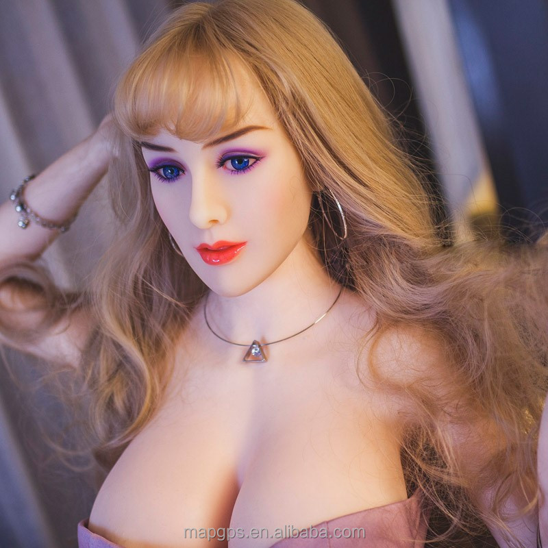 Love TPE Sex Dolls For Men Realistic Face Silicone Solid Type With 3D Head