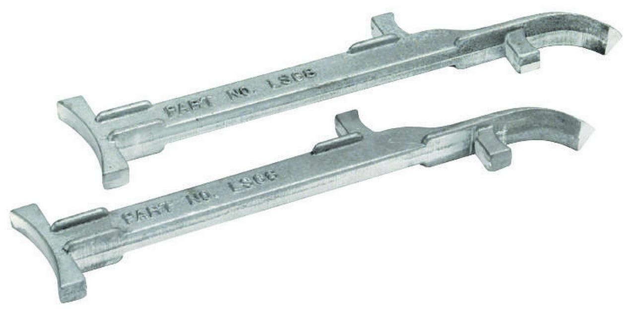 Cleform Tool Marshalltown LS68 Mason Line Stretcher, 6-8 in, Adjustable, Pointer, Cast Alum