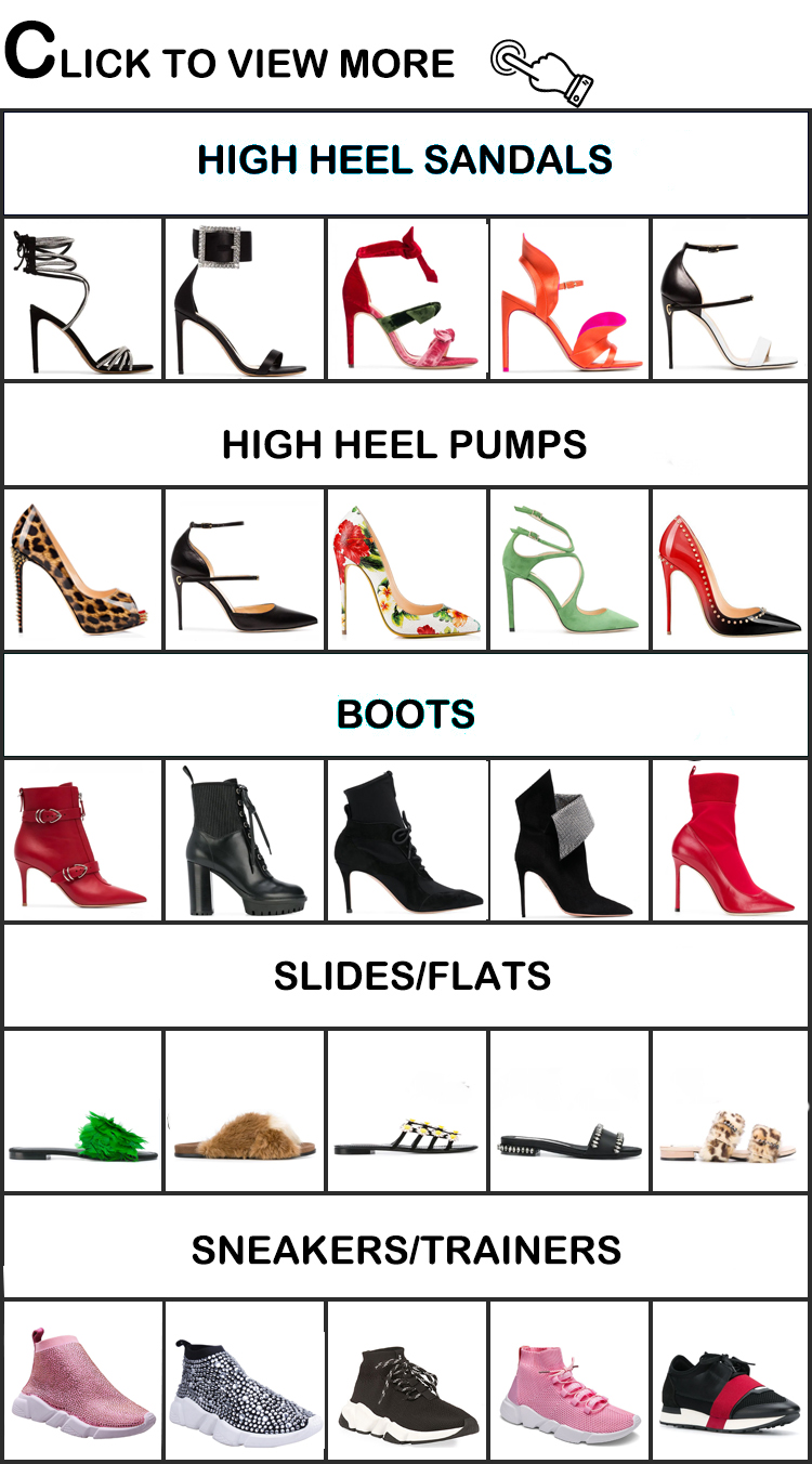2019 ladies china factory shoes women wholesale high heels