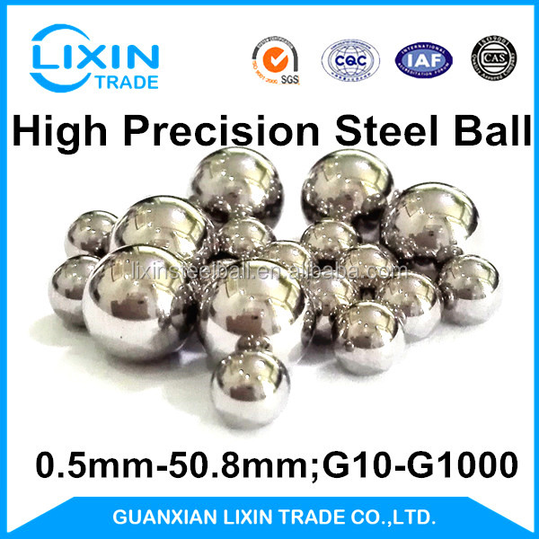 SS302 17mm Solid Roller Stainless Steel Sphere with G100