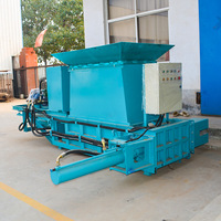 The straw bale press machine hay compress hydraul baler/hay straw compress bag baler machine/rice straw baler machine