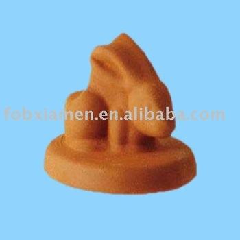 Decorative Animal Rabbit Shaped Clay Pot Base Buy Pot