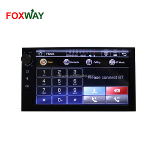 "UNI701 Wince 7"" universal 2din with 180x100mm panel touch screen Car DVD player with gps bluetooth RDS ipod"