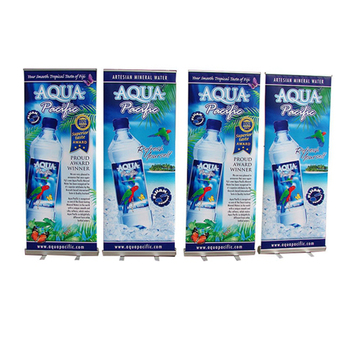 Retractable banner, pull up banner stand, pop up banner stand