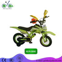 16 inch steel frame beautiful and durable motorcycle with Wanda tire motorcycle style bicycle