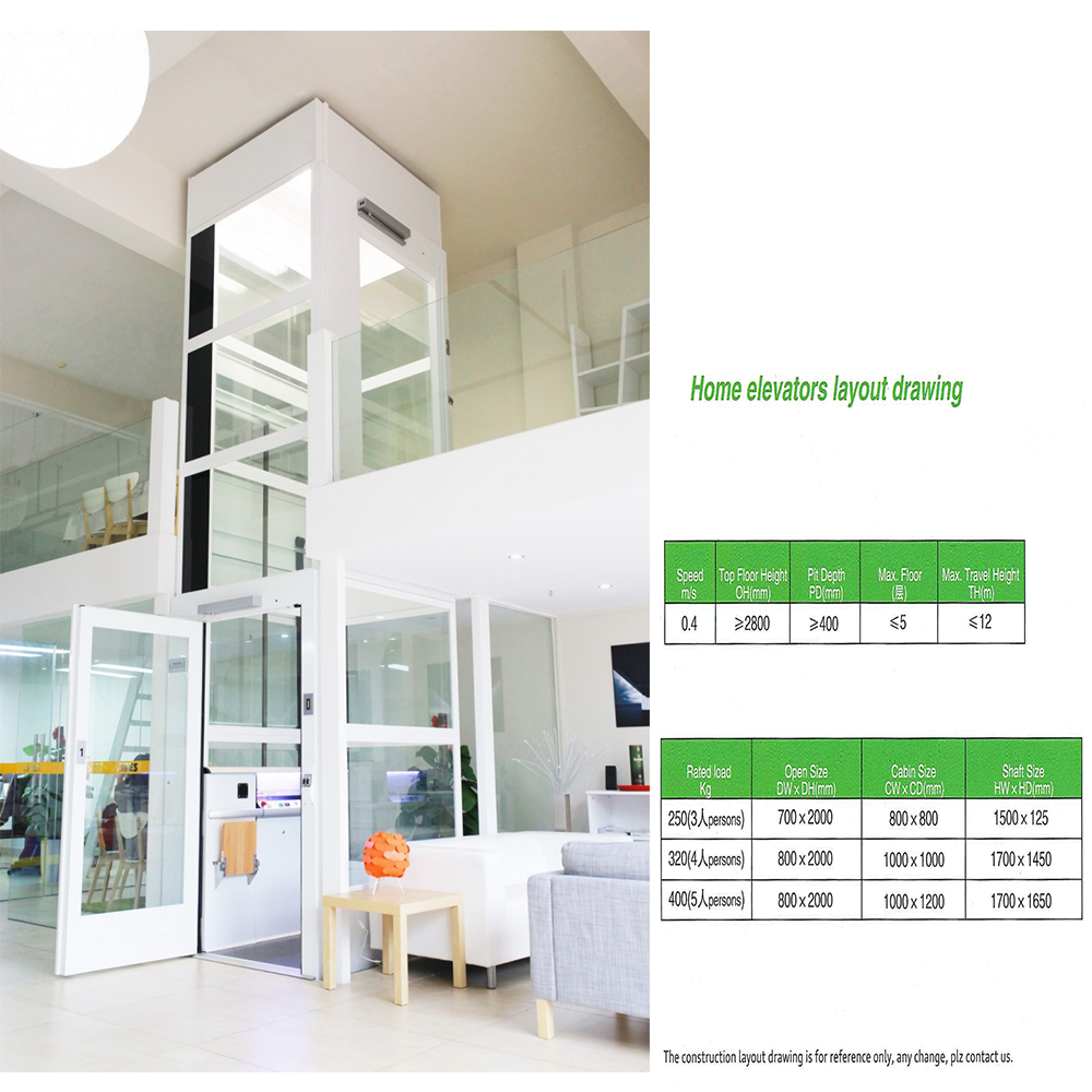 Home Elevator Small Passenger Lift - Buy Lifts And Elevators ...
