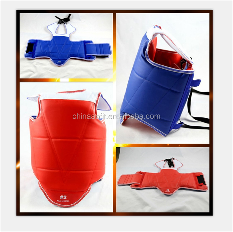 High quality martial arts training equipment taekwondo equipment body protector