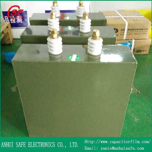 Paper Oil Capacitor 25uF 10KV,CHM High Voltage Pulse Capacitor 25uF 10KV,High Voltage Paper in Oil Capacitor 25uF 10KV