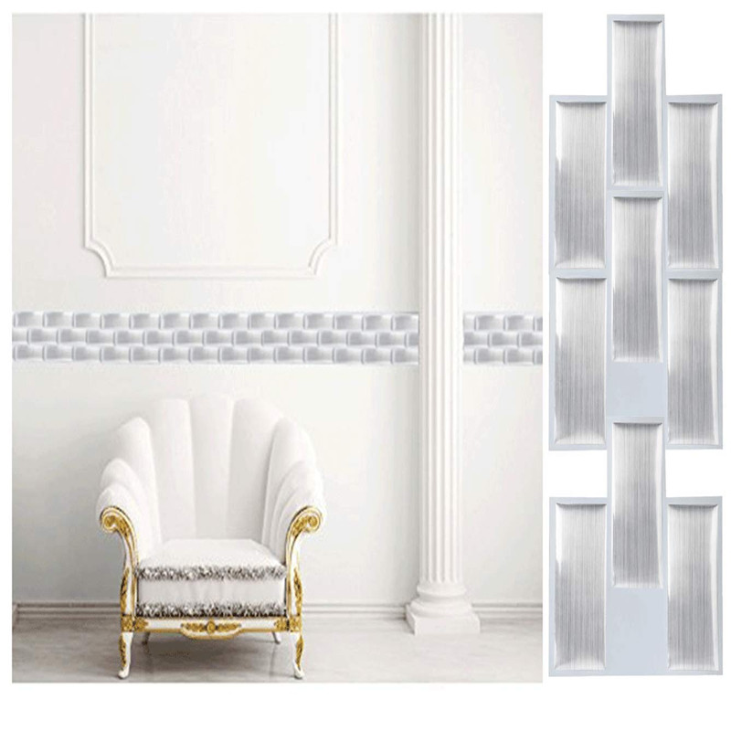 Peel and Stick Wall Decoration - Remarkable Premium Anti-mold Peel and Stick Wall Tiles in Remarkabel Vinyl