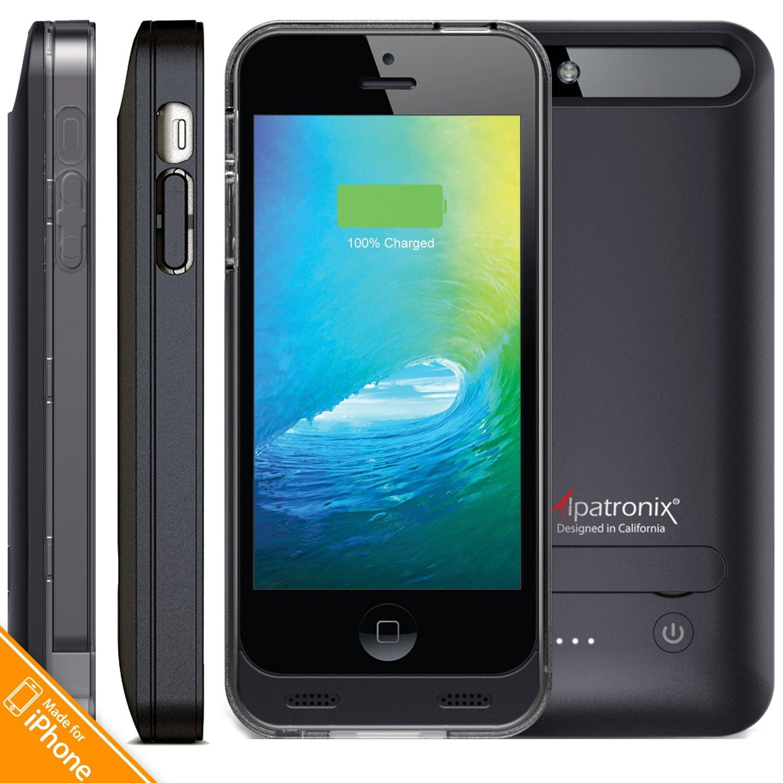 best loved bdd25 f700f Buy iPhone SE Battery Case, Alpatronix [BX120SE] MFi Apple Certified ...