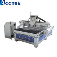 High product efficiency multi heads cnc wood carving router machine /multi spindles cnc relief engraving router