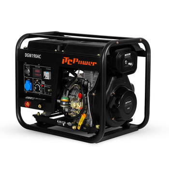 diesel engine generator welding machine for sale easy to move