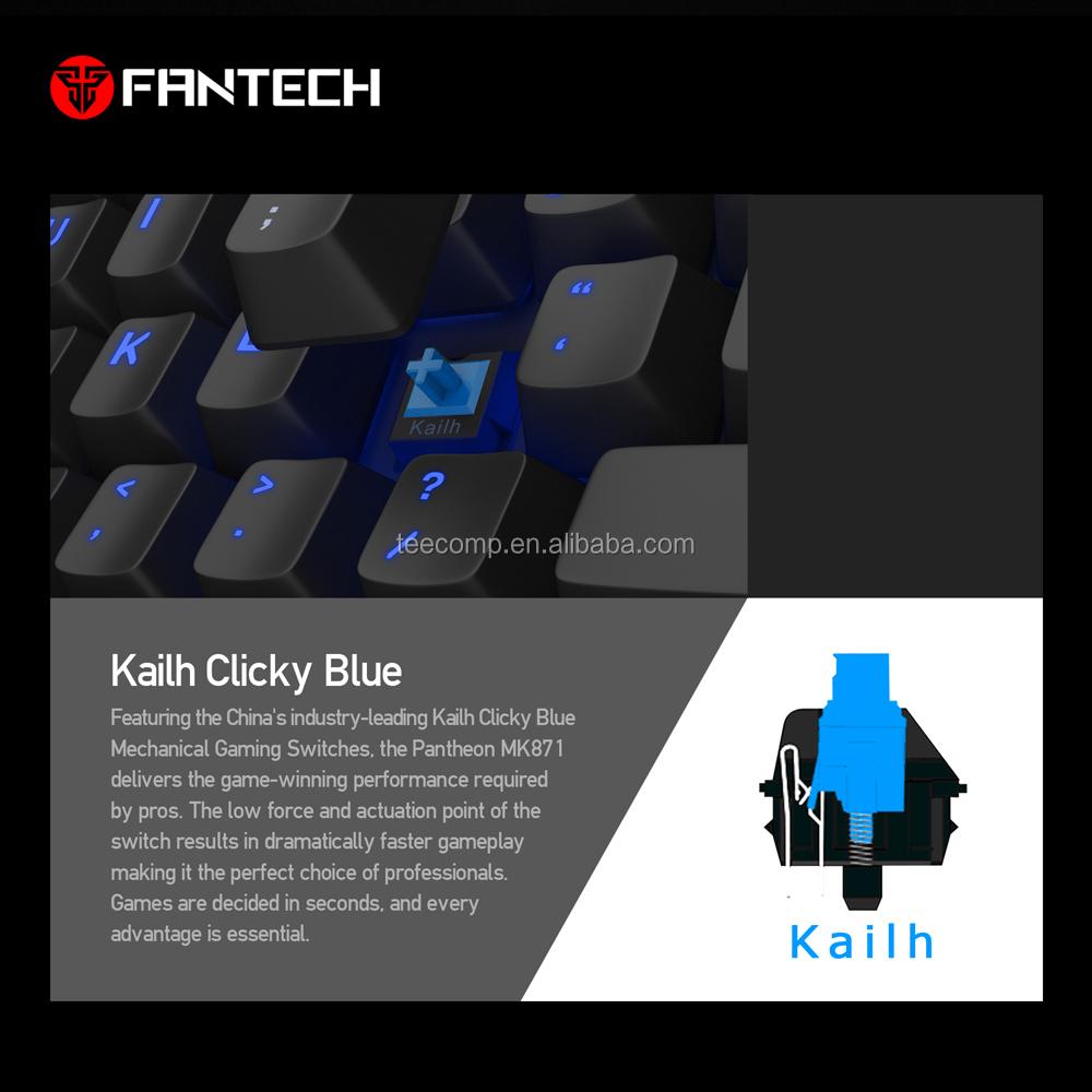 Fantech Tkl Water Resistant Rgb Backlit Mechanical Keyboard Outamu  Replaceable Redragon Keyboard - Buy Redragon Keyboard,Mechanical Keyboard