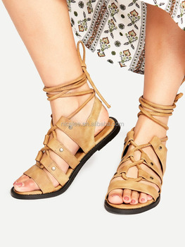 52462bfbb Ns0453 Wholesale Girls Fashion Casual Sandals Student Flat Sandals ...