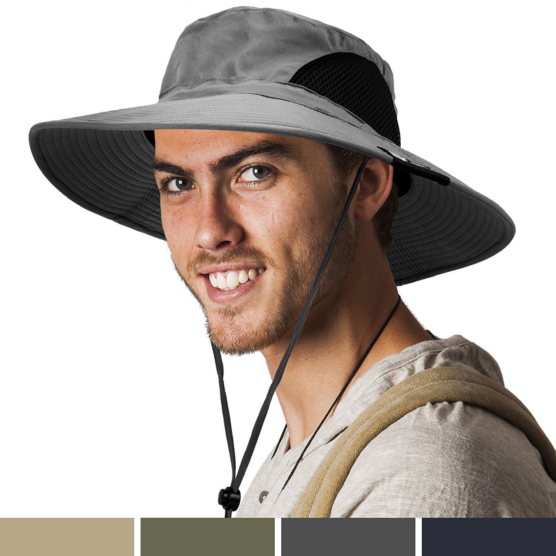 130df3207c4 Get Quotations · SUN CUBE Premium Boonie Hat with Wide Brim