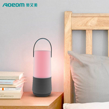 2017 new arrival wireless bluetooth speaker with night light, waterproof, phone call receiving