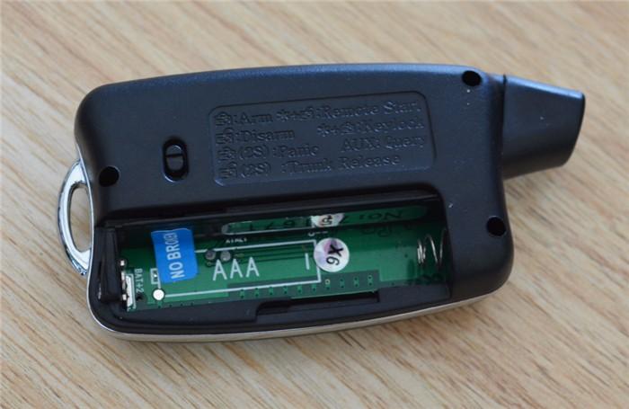 Pke RFID Car Alarm System With Double Way Alarm Hints