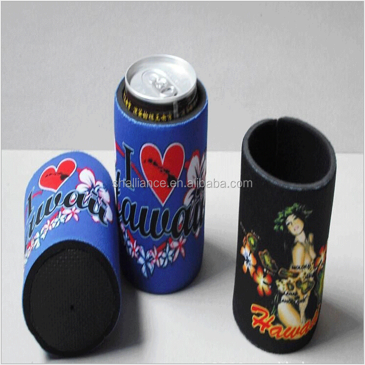 Hot Design magnetic can cooler neoprene beer can cooler with custom logo