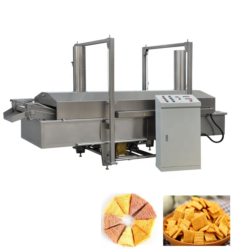 automatic fried corn bugle snacks production line