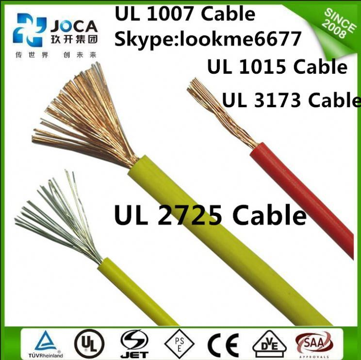 PVC coated electrical Wire UL 1185 copper conductor PVC sheath cable environmental coaxial cable