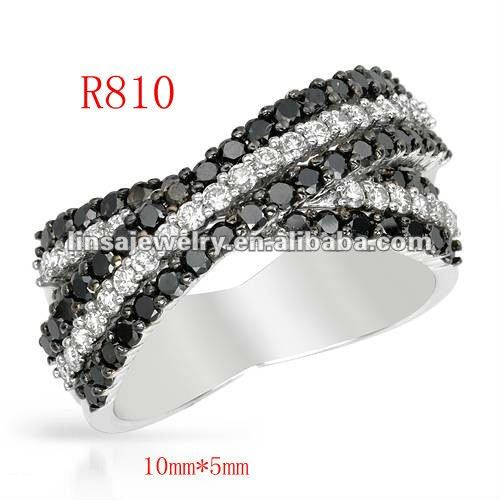 fashion casting men's charm stainless steel ring jewelry R810