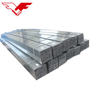 China manufacturer mild steel square and rectangular tube hollow sections pipe