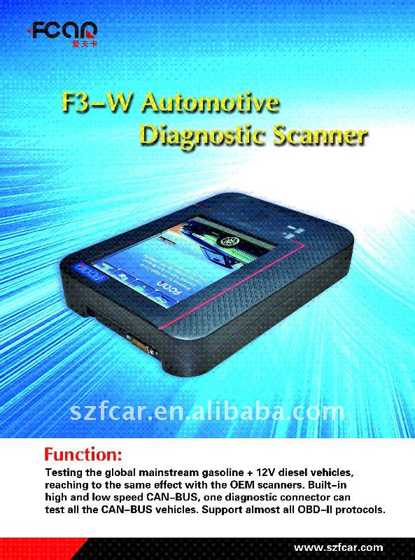 Newest F5G Scan diagnostic scanner for global car models iveco diagnostic