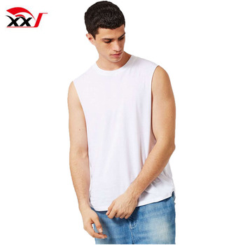 d09291a849a7c Gym wear men oversized tank vest wholesale blank 92 nylon 8 spandex tank  tops